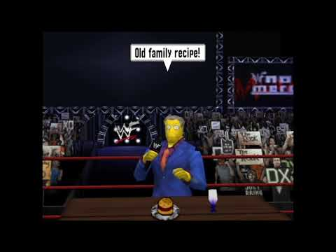 Steamed Hams but it's WWF No Mercy