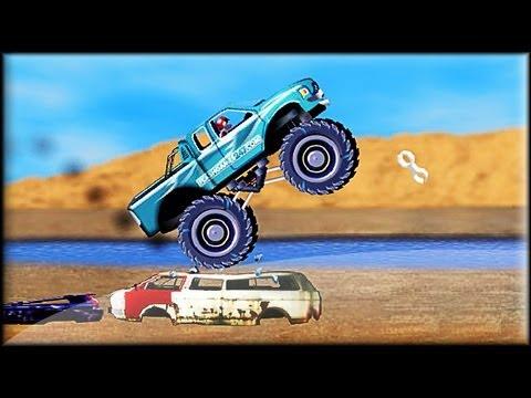monster truck games 4 wheel madness 2