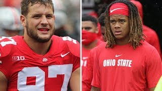 Nick Bosa and Chase Young Ohio State football Highlights vs. Rutgers - Sept 8, 2018