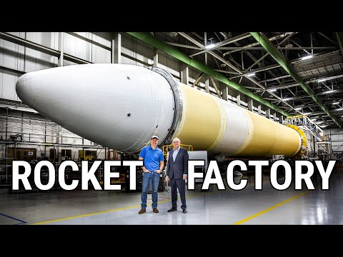 HOW ROCKETS ARE MADE (Rocket Factory Tour - United Launch Al