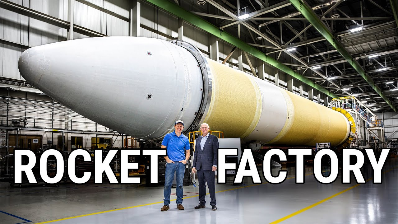 HOW ROCKETS ARE MADE (Rocket Factory Tour - United Launch Alliance) - Smarter Every Day 231