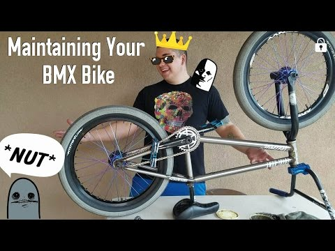 CLEANING AND MAINTAINING YOUR BMX BIKE