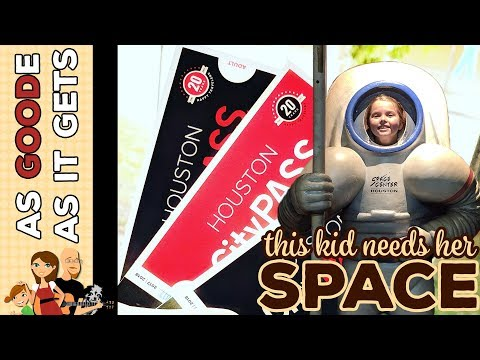 Houston Space Museum // Children's Museum of Houston // Using Our Houston City Pass