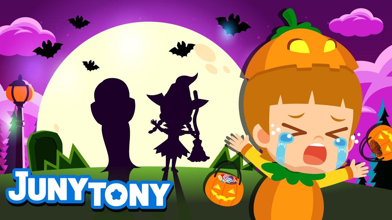 Halloween Surprise👻   Halloween Family💜   Trick or Treat!   Halloween Songs for Kids   JunyTony