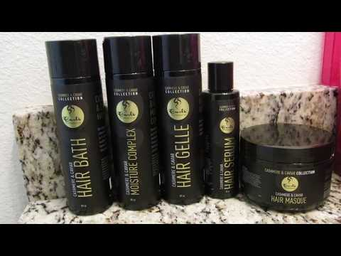 Curls Cashmere & Caviar Review/Demo on Type 4 Hair