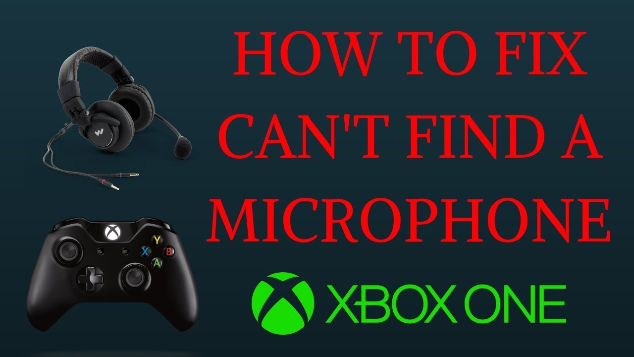 How to Fix Can't Find A Microphone on Xbox One - YouTube