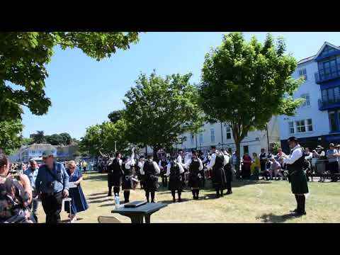 Carlow Pipe Band @Howth 2018