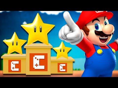 AS FASES MAIS VOTADAS DA TEMPORADA! – Super Mario Maker (SUPER ESTRELADO)