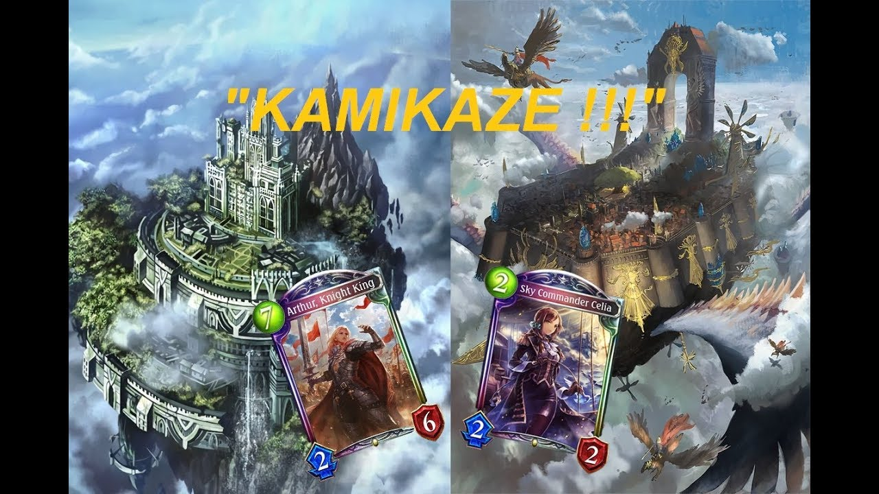 Shadowverse Launching The Fortress To The Face Castle X Sky