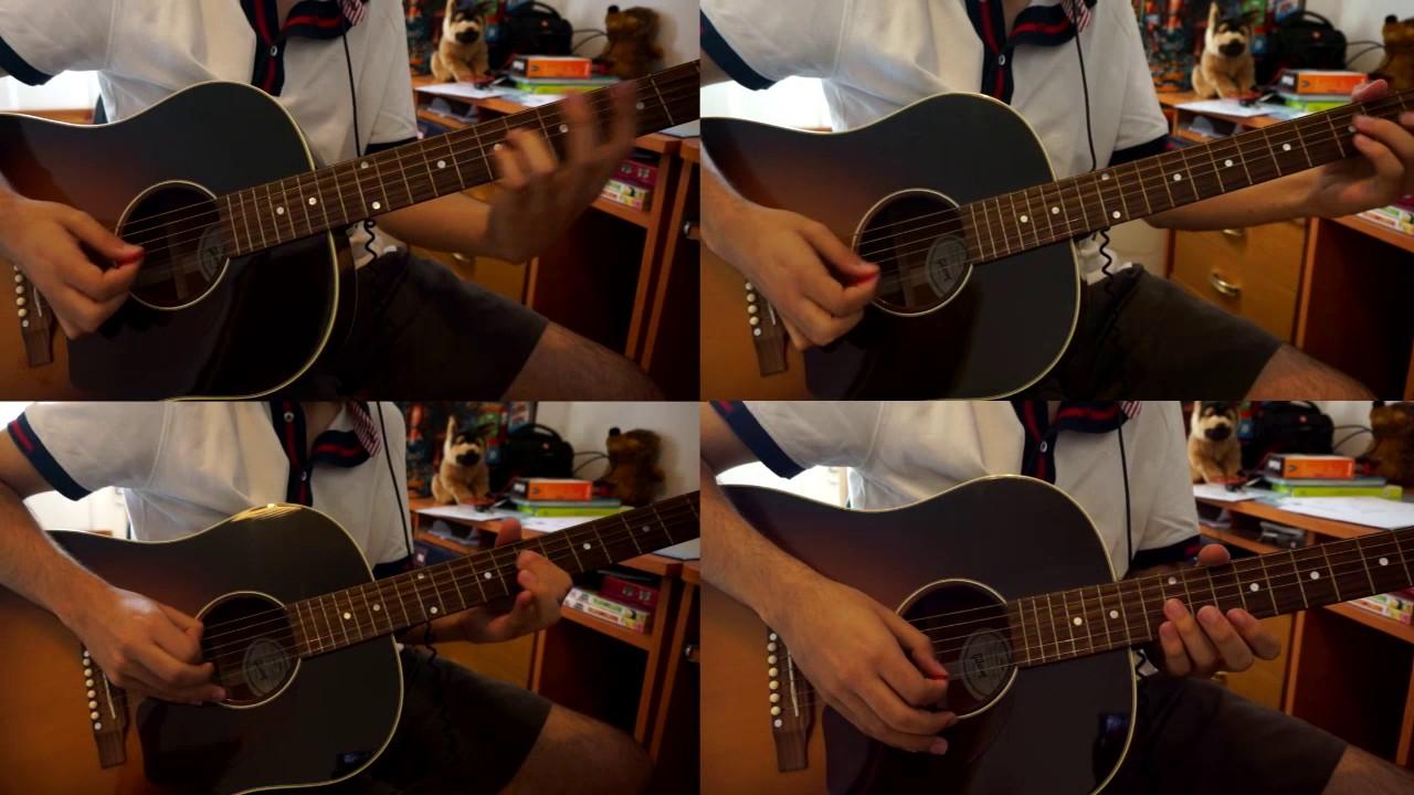 Fullmetal Alchemist Brotherhood - Opening 1 (Again) Acoustic Instrumental - YouTube