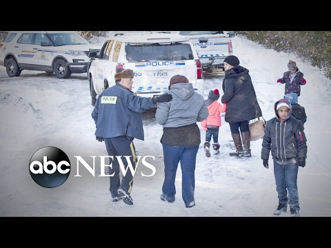 Canadian border has immigrants heading its way