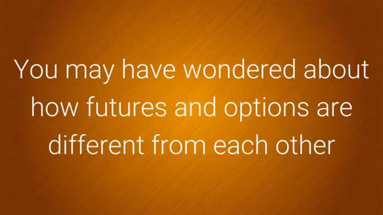 Futures Quotes Futures Vs Options  Which Is Best And Why  Youtube