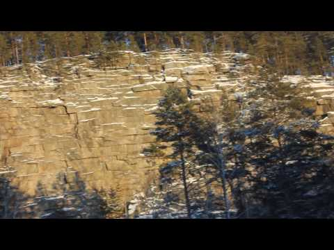 Шайтан камень на реке Реж, Свердловская область