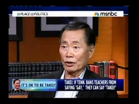 """Don't Say Gay, Say Takei"" - Cenk Interviewing George Takei on MSNBC"