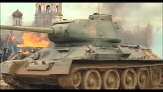 бой с т-34-85 нарезка из фильма.wmv