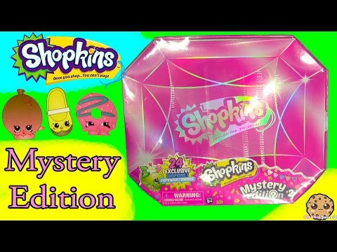 24 Shopkins Target Exclusive Mystery Edition #2  Full Box Reveal Video Cookieswirlc
