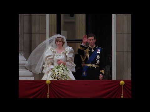 Charles and Di Wedding Video in New Glory