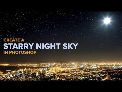 Add Stars To Your Night Sky In Photoshop