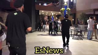 Nate Diaz After Party