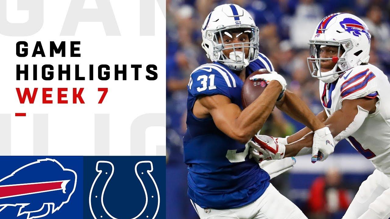 d36214e6 Bills vs. Colts Week 7 Highlights   NFL 2018