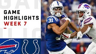 Bills vs. Colts Week 7 Highlights | NFL 2018