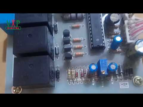 Automatic Voltage Stabilizer (4 Relay)(4 LEDs)