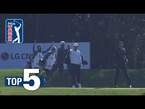 Paul Casey's ace leads Shots of the Week 2018