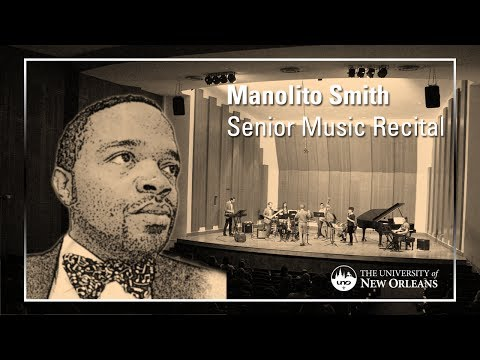 Manolito Smith's Graduate Music Recital
