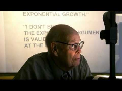 Sustainability 101:  Exponential Growth - Arithmetic, Population And Energy (Full - Updated)