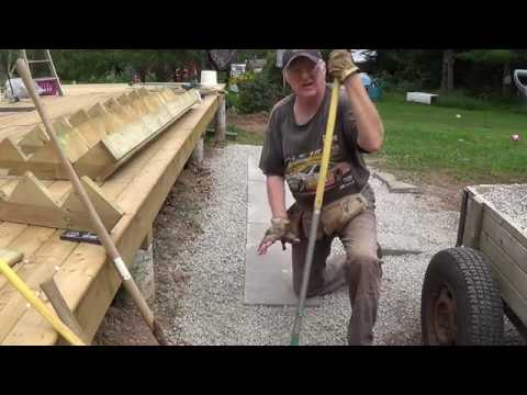 DIY Deck Part 10 - Attaching & Building Steps