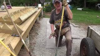 DIY Deck Part 10 - Attaching & Building Steps