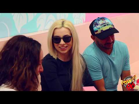 Ava Max Hangs with the Power 96 Morning Show