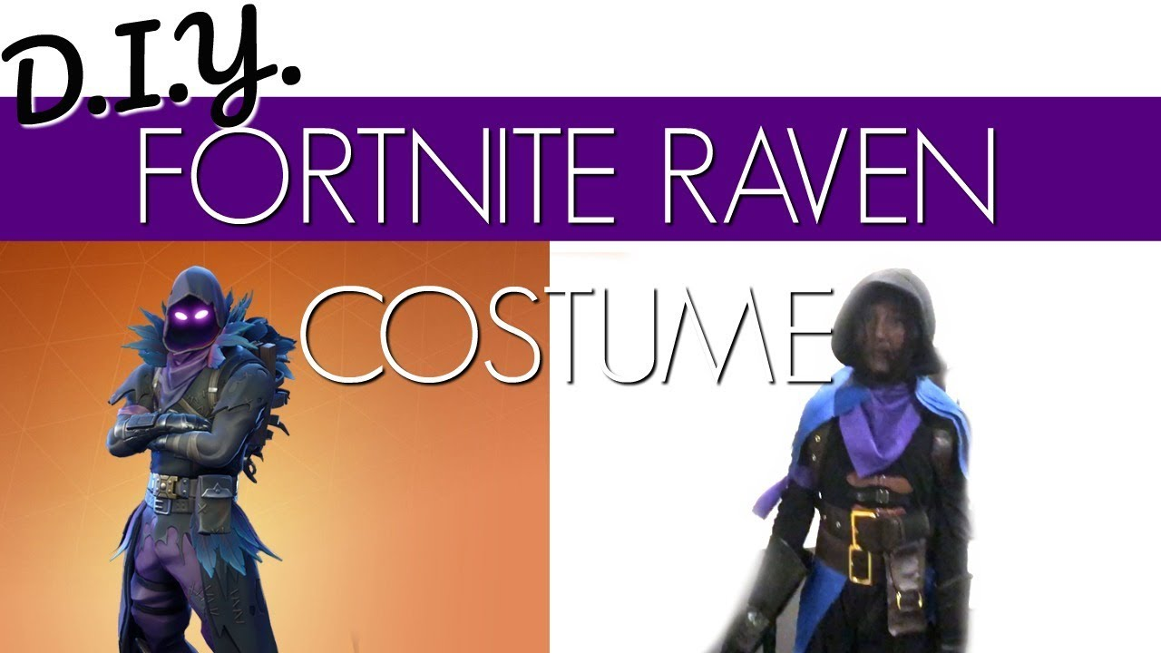 Fortnite Raven Costume D I Y Youtube