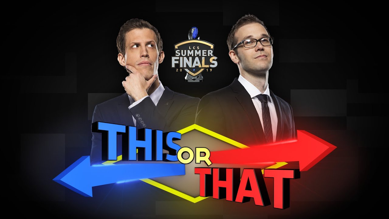 This or That   Live from Detroit