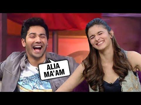 Varun Dhawan Has A SPECIAL Name For Alia Bhatt   Kalank Mp3