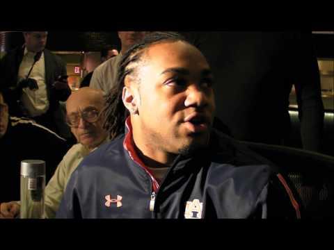 Tre Mason talks Auburn football on Heisman Trophy Eve