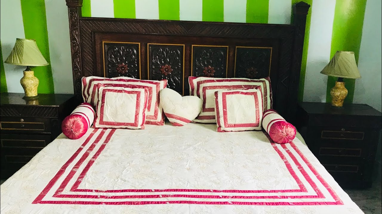 beautiful bed sheet design ideas cushion cover pillow cover designs 2020