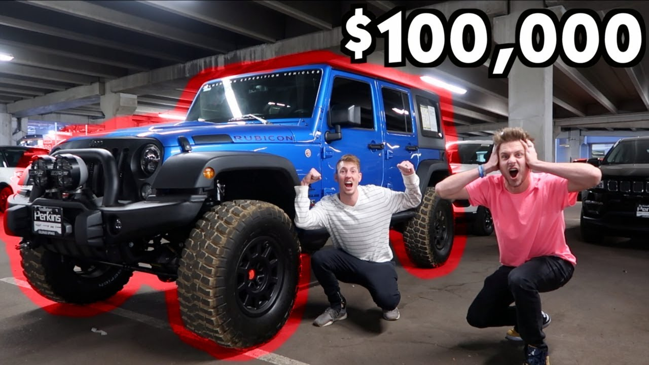 $100,000 AND THIS JEEP IS OURS! - YouTube
