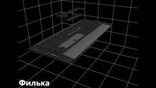 Как поставить клавишу пробел на место (с железками)