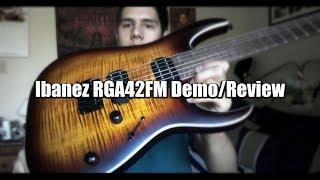 Ibanez RGA42FM Dragon Eye Burst - Demo & Review