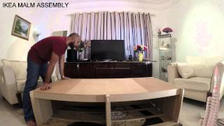 Time Lapse Assembly Of Ikea Malm Chest Of Drawers