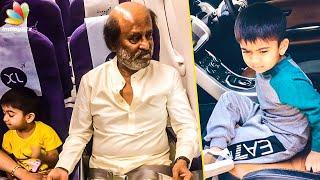 Superstar with Grandson In Darbar Shoot I Ved, Rajinikanth, Nayanthara I Hot Cinema News