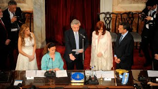 La jura de Alberto Fernández y Cristina Kirchner en el Congreso de la Nación
