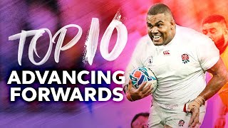 💪 Forwards Breaking The Line | Top Line Breaks by Forwards at RWC