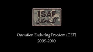 Operation Enduring Freedom (the war in Afghanistan)