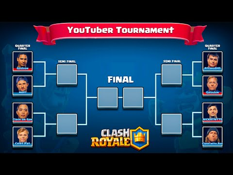 Clash Royale YouTuber Tournament  ♦ FULL...