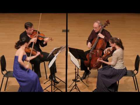 Beethoven String Quartet No 4 in C Minor, Op 18, No 4