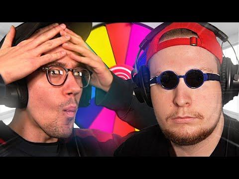 YouTuber Kart Turnier, aber mit Glücksrad