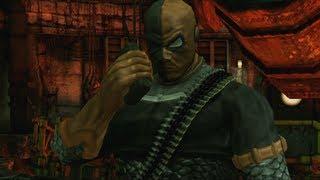 Batman: Arkham City Lockdown - Live Action Deathstroke Boss Fight Gameplay Video