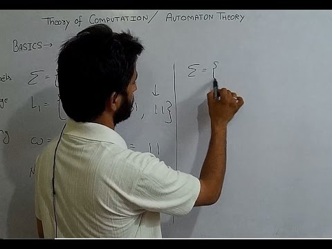 Theory of Automata # Introduction And Basics # Lecture1 # Symbol # Alphabet # Language # String